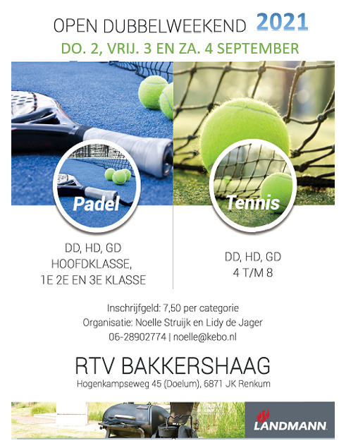 Open Dubbel Toernooi 02-04 September